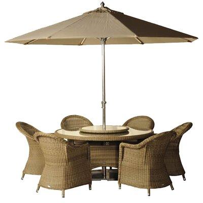 Bramblecrest Sahara 9 Piece Dining Set with Cushion