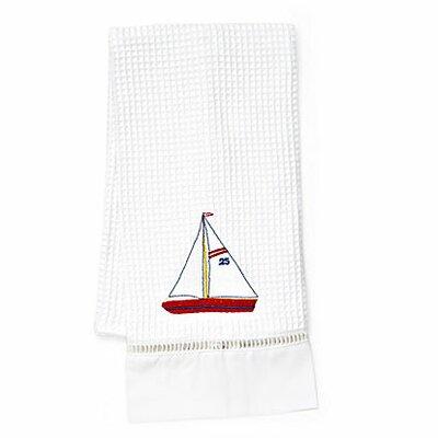 Jacaranda Living Sailboat Hand Towel