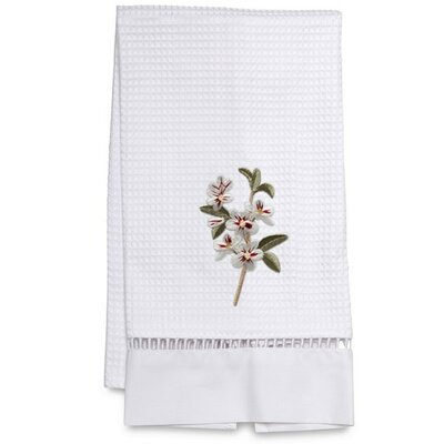 Waffle Weave Apple 100% Cotton Hand Towel