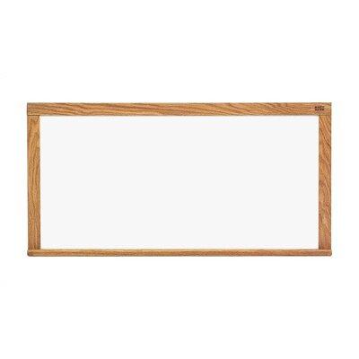 Marsh Pro-Rite Wall Mounted Magnetic Whiteboard, 5' H x 8' W