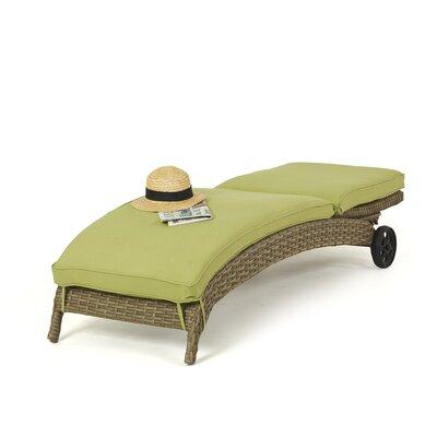 Maze Rattan Milan Sunlounger with Cushion