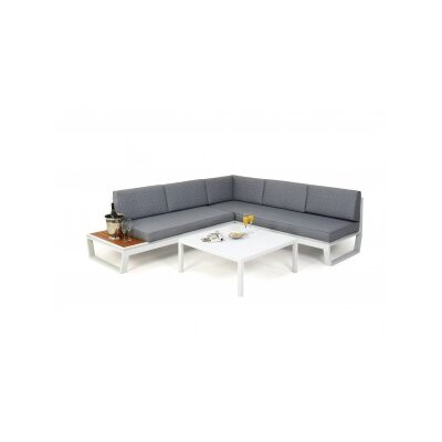 Maze Rattan Venus 5 Seater Sectional Sofa Set with Cushions