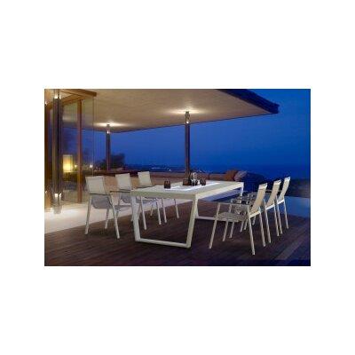 Maze Rattan Venus LED 6 Seater Dining Set