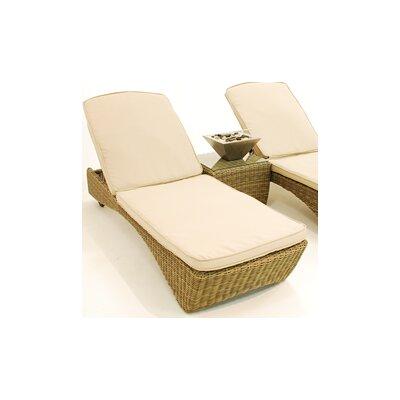 Maze Rattan Winchester Reclining Sun Lounger Set with Cushions