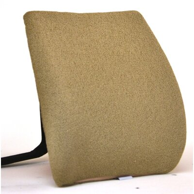 Memory Foam Back Cushion with Adjustable Belt Finish: Cappuccino