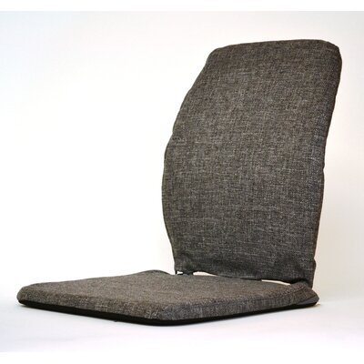 Deluxe Seat and Back Cushion Finish: Charcoal, Size: 15""