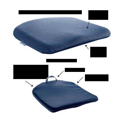 Memory Foam Molded Seat Finish: Blue