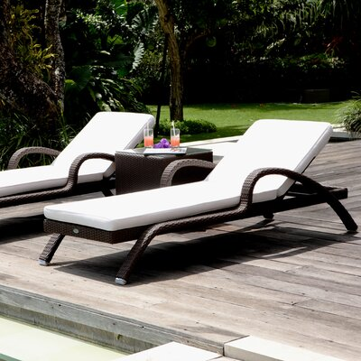 SkyLine Design Imperial Lounger with Cushion