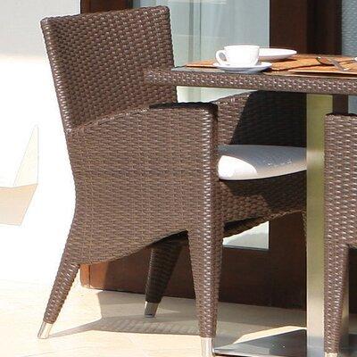 SkyLine Design Dining Arm Chair with Cushion
