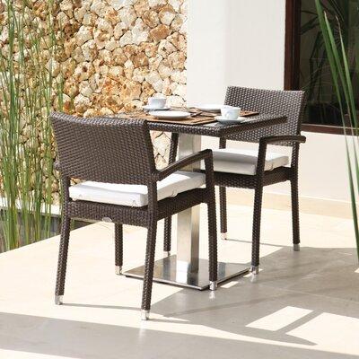 SkyLine Design Truffaut 2 Seater Bistro Set with Cushions