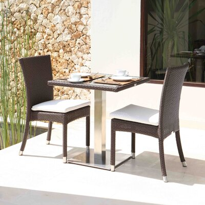 SkyLine Design Palos 2 Seater Bistro Set with Cushions