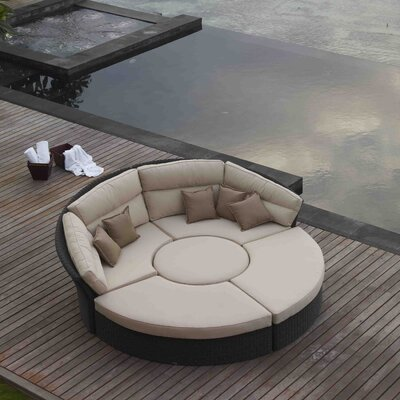 SkyLine Design Bisham DayBed with Cushions