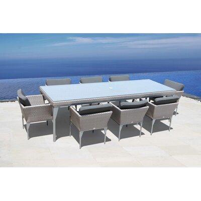SkyLine Design Brafta 8 Seater Dining Set with Cushions