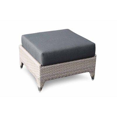 SkyLine Design Malta Ottoman Stool with Cushion