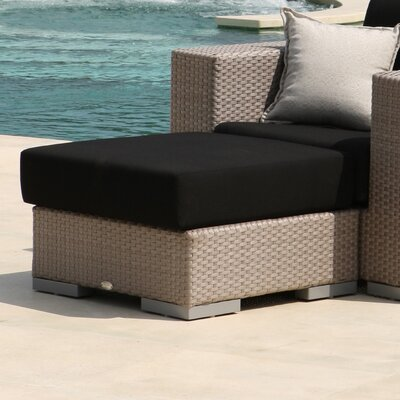 SkyLine Design Brando Ottoman with Cushion