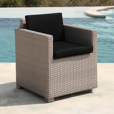 SkyLine Design Pacific Dining Arm Chair with Cushion