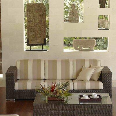 SkyLine Design Brando 3 Seat Sofa with Cushions