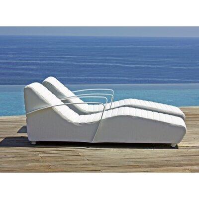 SkyLine Design Axis Sun Lounger with Cushion