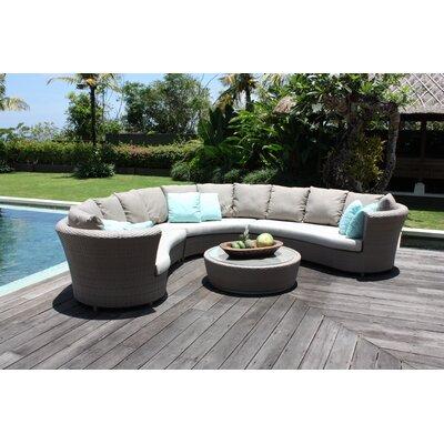 SkyLine Design Florence 3 Piece Sectional Sofa