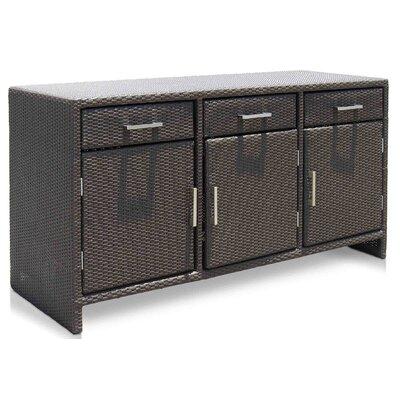 SkyLine Design Opal Aluminium Wicker Storage Box I