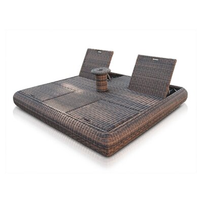 SkyLine Design Mandalay Reclining Daybed with Cushions