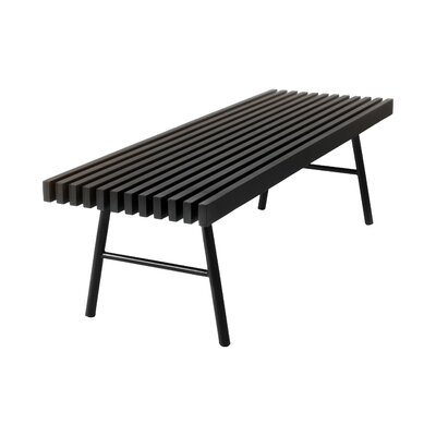 Transit Bench Color: Black Ash / Black