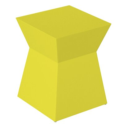 Pawn Accent Stool Finish: Saffron Yellow Lacquer