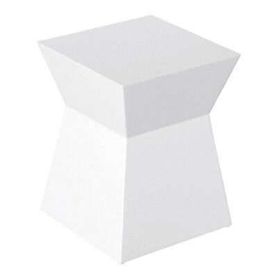 Pawn Accent Stool Finish: White Lacquer