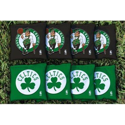 NBA Replacement Corn Filled Cornhole Bag Set NBA Team: Boston Celtics