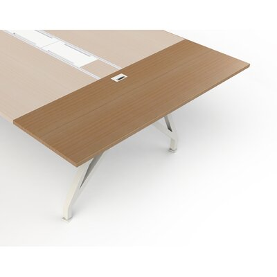 """EYHOV Workstations Accessories 1"""" H Desk Bridge Finish: Maple"""