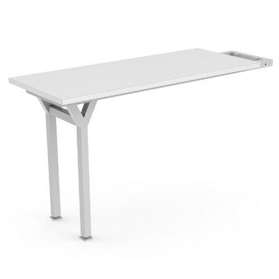 "EYHOV Workstations Accesories 29"" H x 20"" W Desk Peninsula Finish: White"