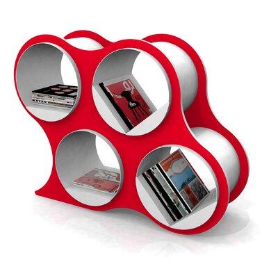 Bolla Pop Cube Unit Bookcase Finish: Red