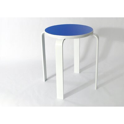 Bolla Core Stackable Accent Stool Color: Artict Blue