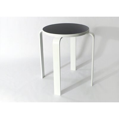 Bolla Core Stackable Accent Stool Color: Black