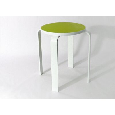 Bolla Core Stackable Accent Stool Color: Scale Green