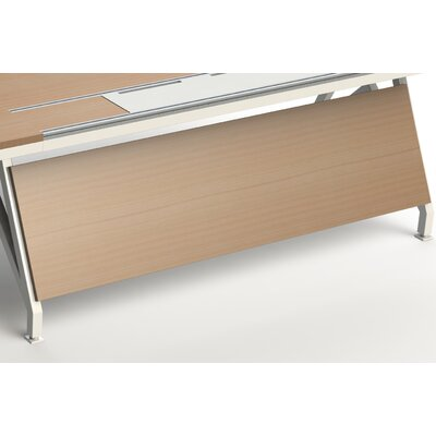 "EYHOV Workstations Accessories Desk Privacy Panel Finish: Maple, Size: 18"" H x 70"" W x 1"" D"