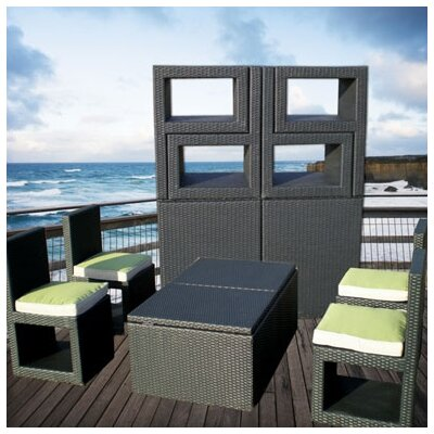 Deck Cetra 6 Piece Sunbrella Conversation Set with Cushions