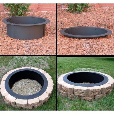 DIY Steel Wood Burning Fire Ring