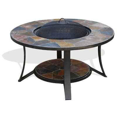 Arizona Sands Stainless steel Wood Burning Fire Pit Table
