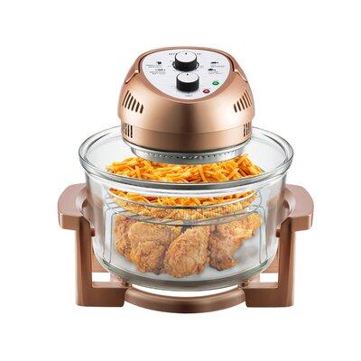 16 Liter Oil-Less Air Fryer Color: Copper