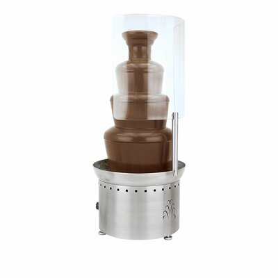 Open Sneeze Guard for Medium or Large Chocolate Fountain