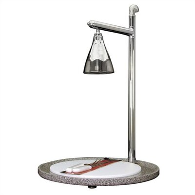 Buffet Enhancements Stainless Steel Single Lamp Round Carving Station