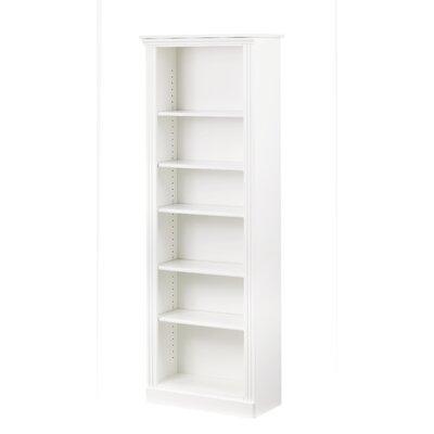 Madison Standard Bookcase Finish: White