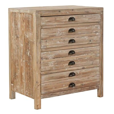 Small Apothecary 4 Drawer Accent Chest