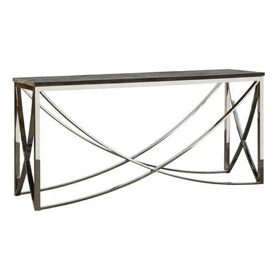 Trapeze Console Table