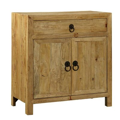Elm 1 Drawer 2 Doors Accent Cabinet