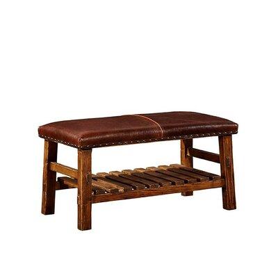 Everett Leather Bench
