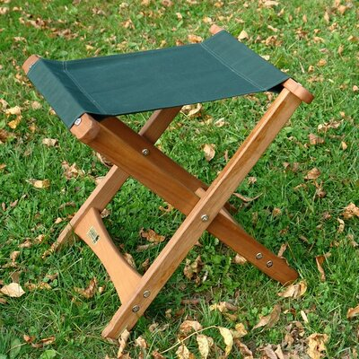 Aleah Folding Garden Stool Color: Brown
