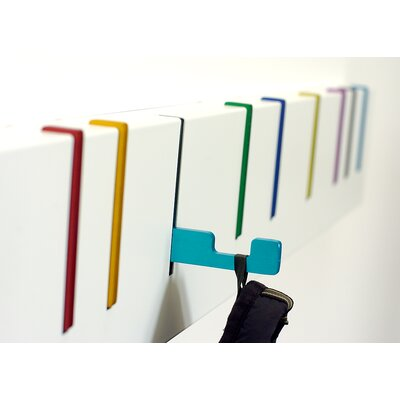 Symbol Coat Rack Finish: Multi Color
