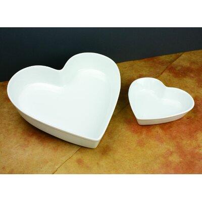 Omniware Culinary Proware Heart Condiment Server